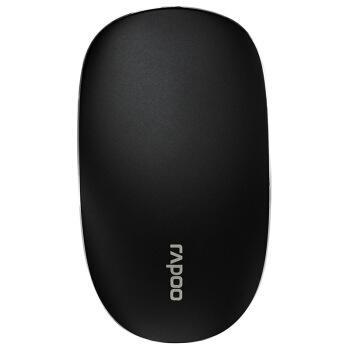 RAPOO(Rapoo)T 8ワイヤレスマウスオフィスマウス対称マウスに触れてマウスを携帯するノートパソコンのマウスの黒