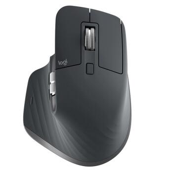 ルージク(Logitech)MX Master 3マウスワイヤレスブイルツトゥスマウス執務マウスデュアル優連2.4 G受信グラファイトブラック