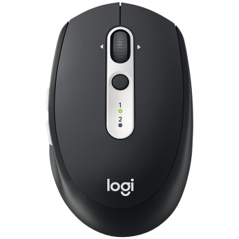 ロジク·ル(Logitech)M 585ワリエル·ツトゥ·スマウスのダブルモード接続オフィスビジネスノート家庭用Flow技術黒鉛ブラック