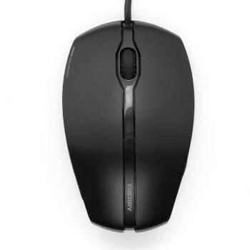 チェリー(Cherry)JM-0300ワイヤードマウスゲームミッグマーズファッション薄マウス対称マウス競合マウスのクールなライト効果ブラック自営1000 DPI