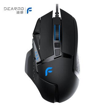 DEARMO F 35ケーブルマウスゲームミンゲームRGBマウスは绝对に生产を求めます。鶏マウスに分銅の重みが付いています。マウス黒で600 DPIです。