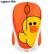 ロジク·ル(Logitech)LINE FRIENDSシリーズマウスワイヤ·レスマウスオフィスマウス女性サリーSALLY自営帯ワイヤ.4 G受信機