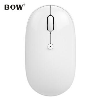 航世(BOW)MB 163携帯ワンヤルブルッツェニースマウスノートオフィスミュートマウスAndrobull tsマウス白マウス