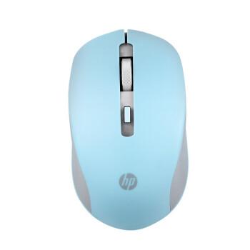 HP(HP)S 1000ワイヤレスムスデスクトップパソコンオフィスノートパソコン家庭用ワンヤレスシアン