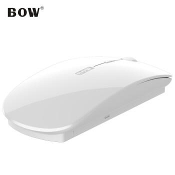 航世(B.O.W)A 10携帯ワイヤレスバルマウス男女生家庭用/ノートパソコンオフィスマウス白
