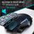 ET X-08ワイヤレスマウスゲ-ミングーウスマウス機械マウス競合無声オフィスデスクトップパソコンノートcf英雄連盟lol加重大自営